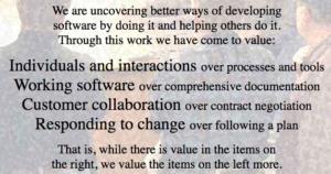 Shorter Agile Manifesto